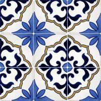 mexican tile designs stencil | Mexican Talavera Frost ...