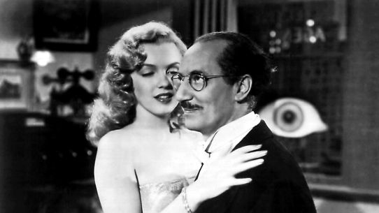 Image result for marilyn and groucho