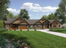 Plan 23609jd Story Mountain Ranch Home Craftsman