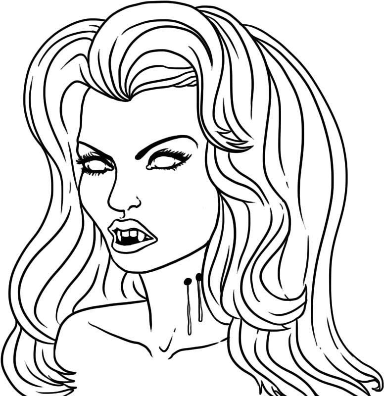 vampire coloring pages  google search  goth coloring