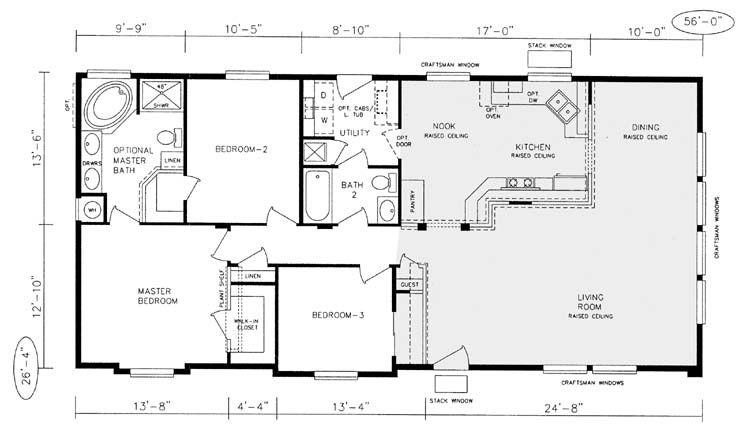 champion manufactured home floor plans  Champion Modular