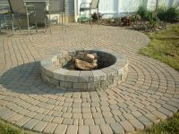 How Many Pavers for Fire Pit | Fire Pit | Pinterest ...