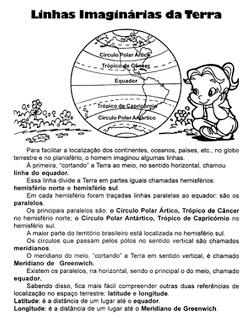 ATIVIDADES DE GEOGRAFIA 4° ANO FUNDAMENTAL EXERCÍCIOS