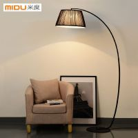 American-country-bedroom-floor-lamp-standing-lamp-modern ...