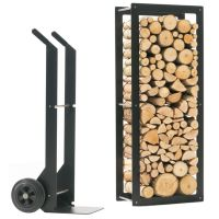 Woodstock Firewood Rack - Indoor | For the Home ...