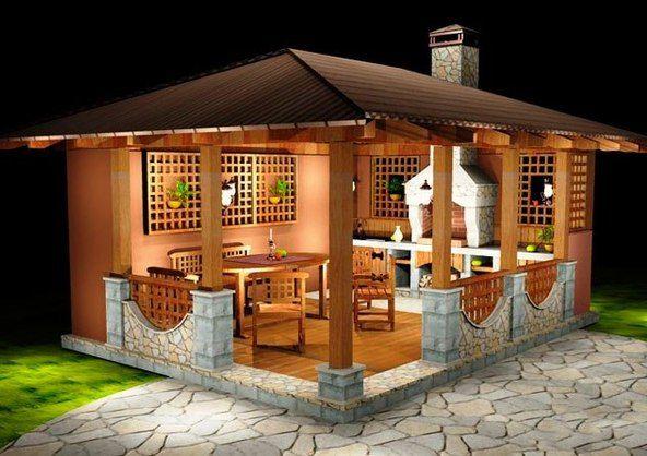 A Small House For The Garden Gazebo Ideas For The Home