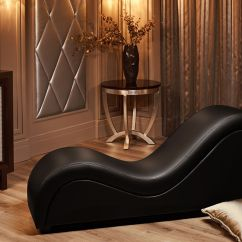 Tantra Chair Sex Wooden Glider Canada Divan Black In The Interior