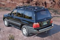 Gobi Toyota Land Cruiser 100 Series Stealth Roof Rack ...