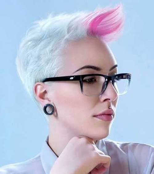 15 Punk Hairstyles For Short Hair Pastel Hair Pinterest 15