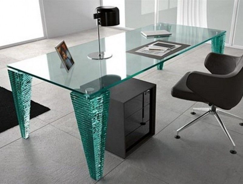 Modern Glass Desk Design Ideas 1821 Desk Design