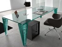 Modern Glass Desk Design Ideas 1821 Desk Design | Glass ...