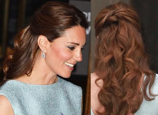 Kate Middleton Hairstyle Wedding Hair Pinterest Her Hair