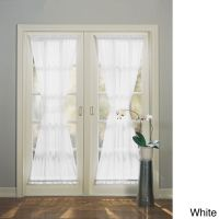 No. 918 Emily Sheer Voile Single Solid-colored Patio Door ...
