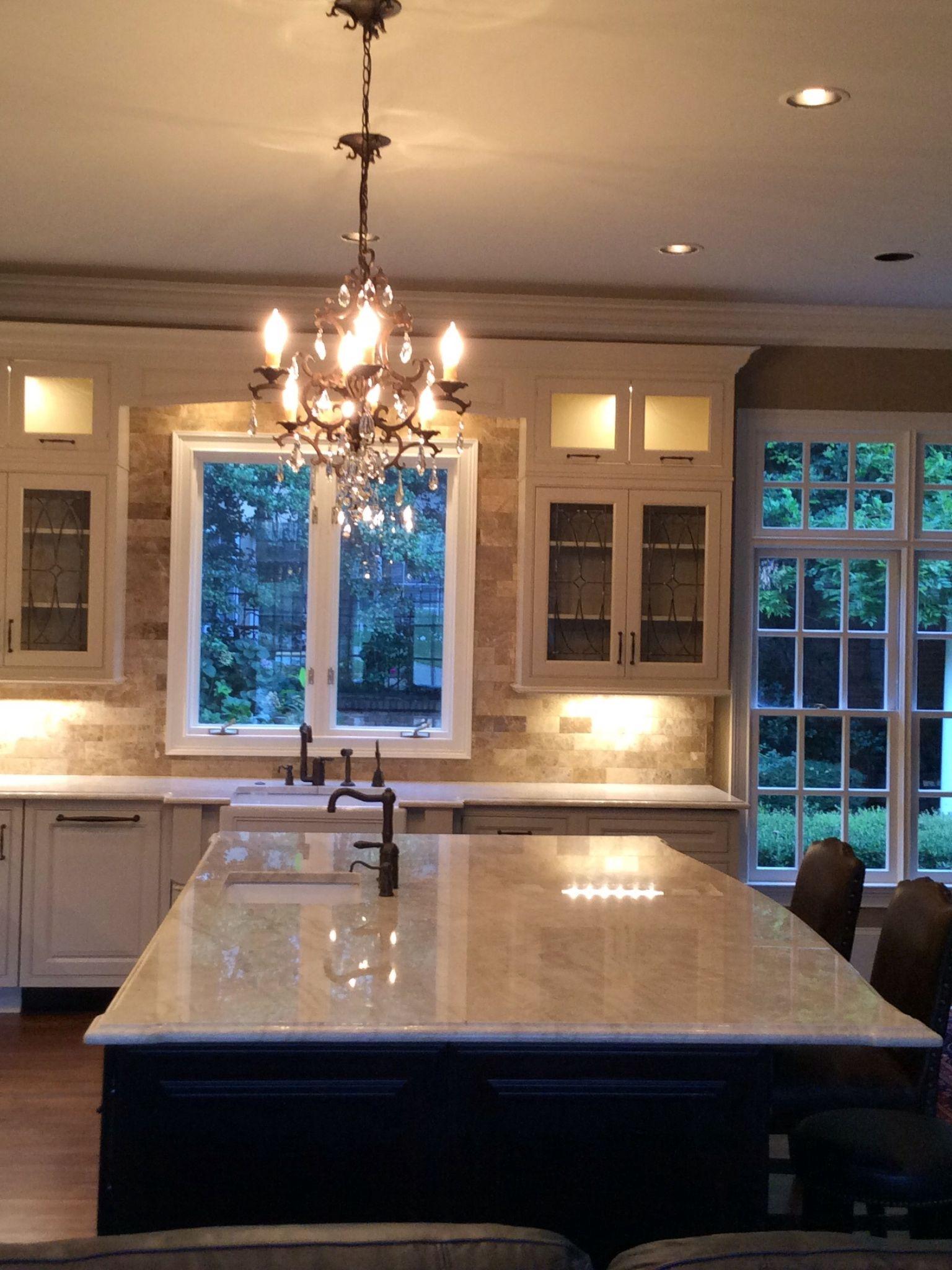 wellborn kitchen cabinets blender cream colored cabinets, taj mahal quartzite countertops ...