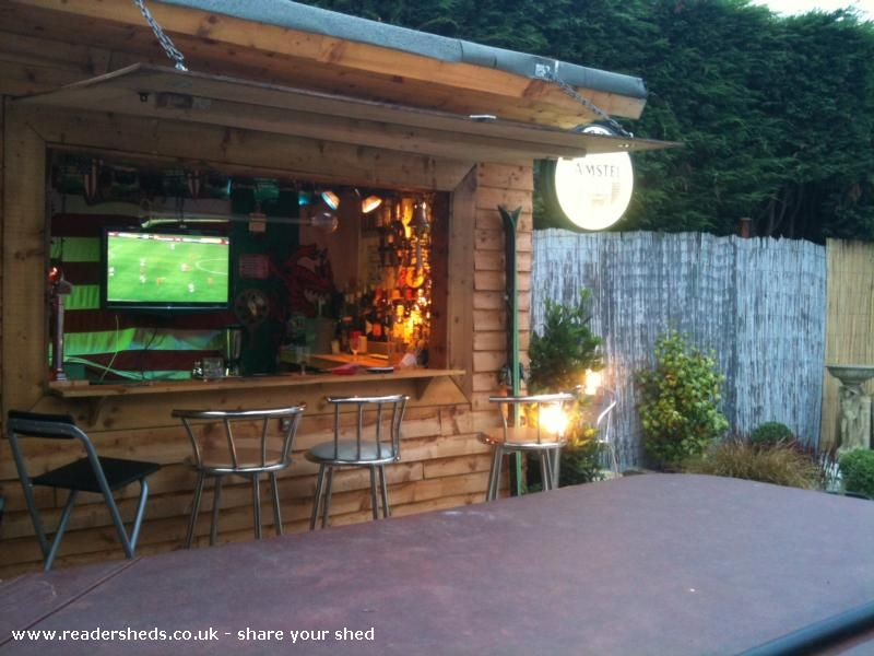 Classic Bar Shed Tiki Bars And Bar Sheds Pinterest Gardens