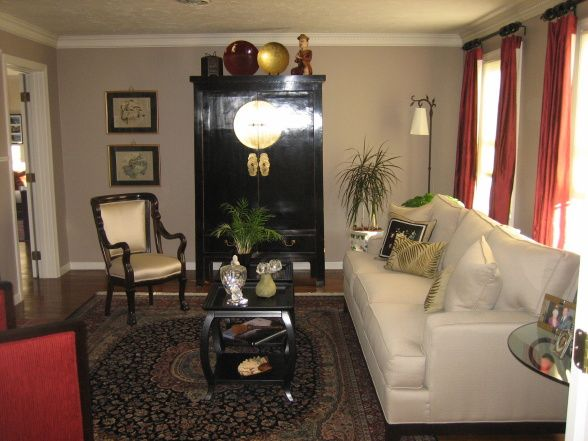 Asian living room decor inspired designs decorating ideas hgtv also rh pinterest