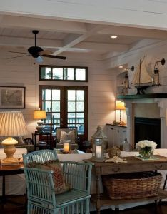 My favorite beach house coastal living decorating ideas also tour one of houses decor and rh pinterest