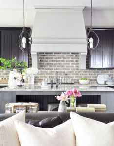 How to decorate an open concept living area also kitchens rh pinterest