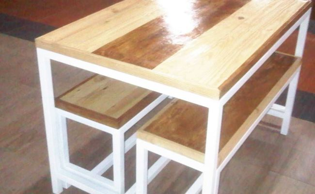 Donedetail Dinning Table Custom Rm Dapur Dkmaterial Kayu