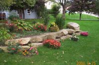 Cheap And Easy Landscaping Ideas   Rock Landscaping Ideas ...