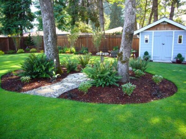 gardening under oak trees