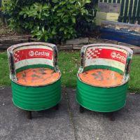 Recycled Oil Drum Chair | 'Vintage' | Pinterest | Drums ...