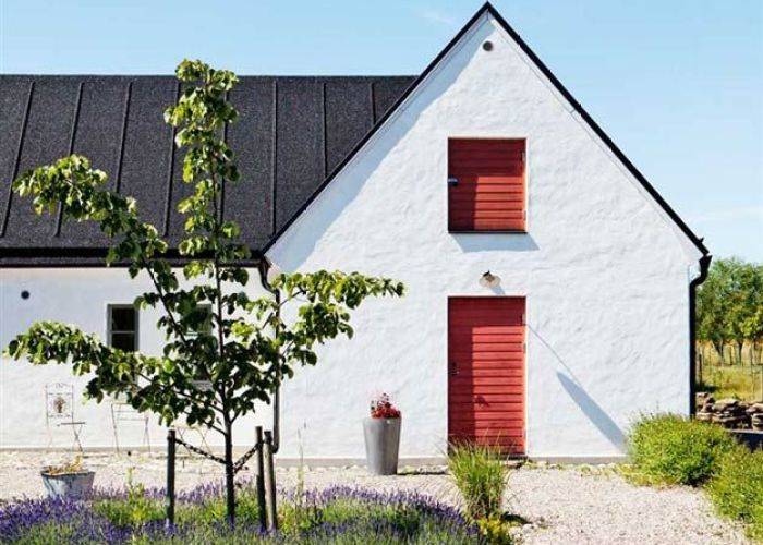 Swedish house also why scandinavian farmhouses are your new favorite homes dot  bo