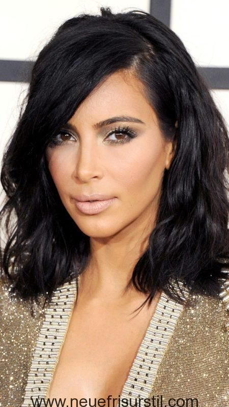 Kim Kardashian Bedhead Frisur Stars Frisuren Pinterest Bedhead