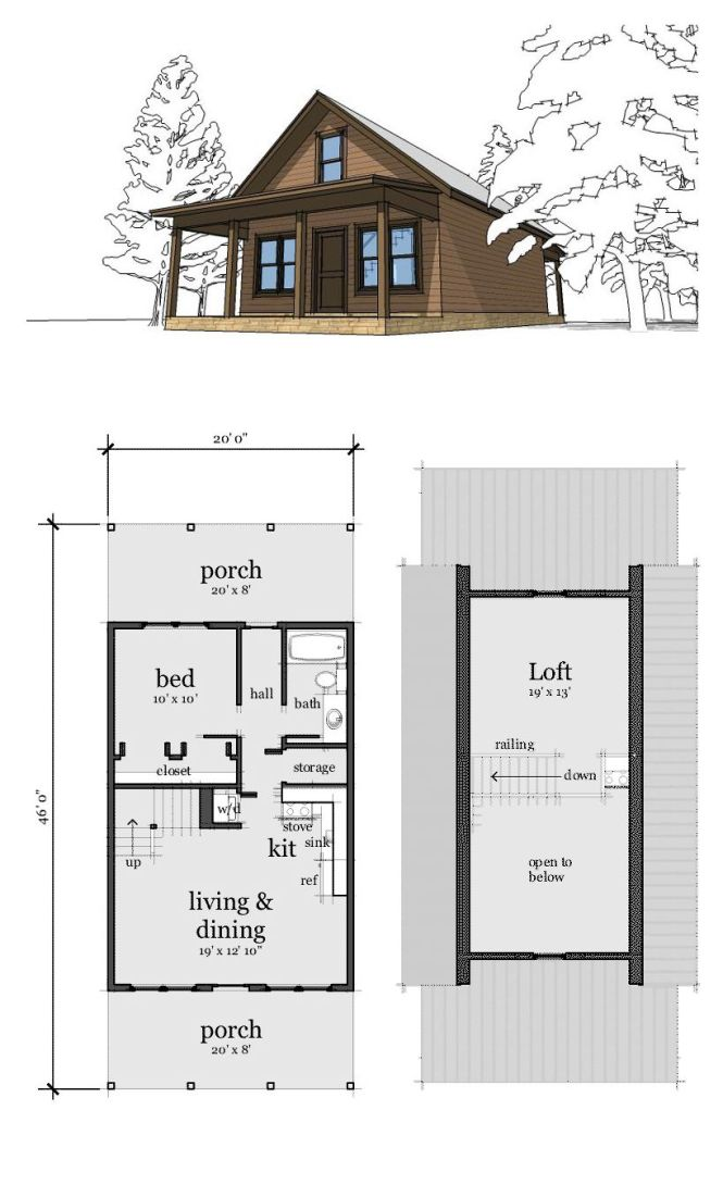 Small House Plans With Loft Bedroom Bedroom Style Ideas