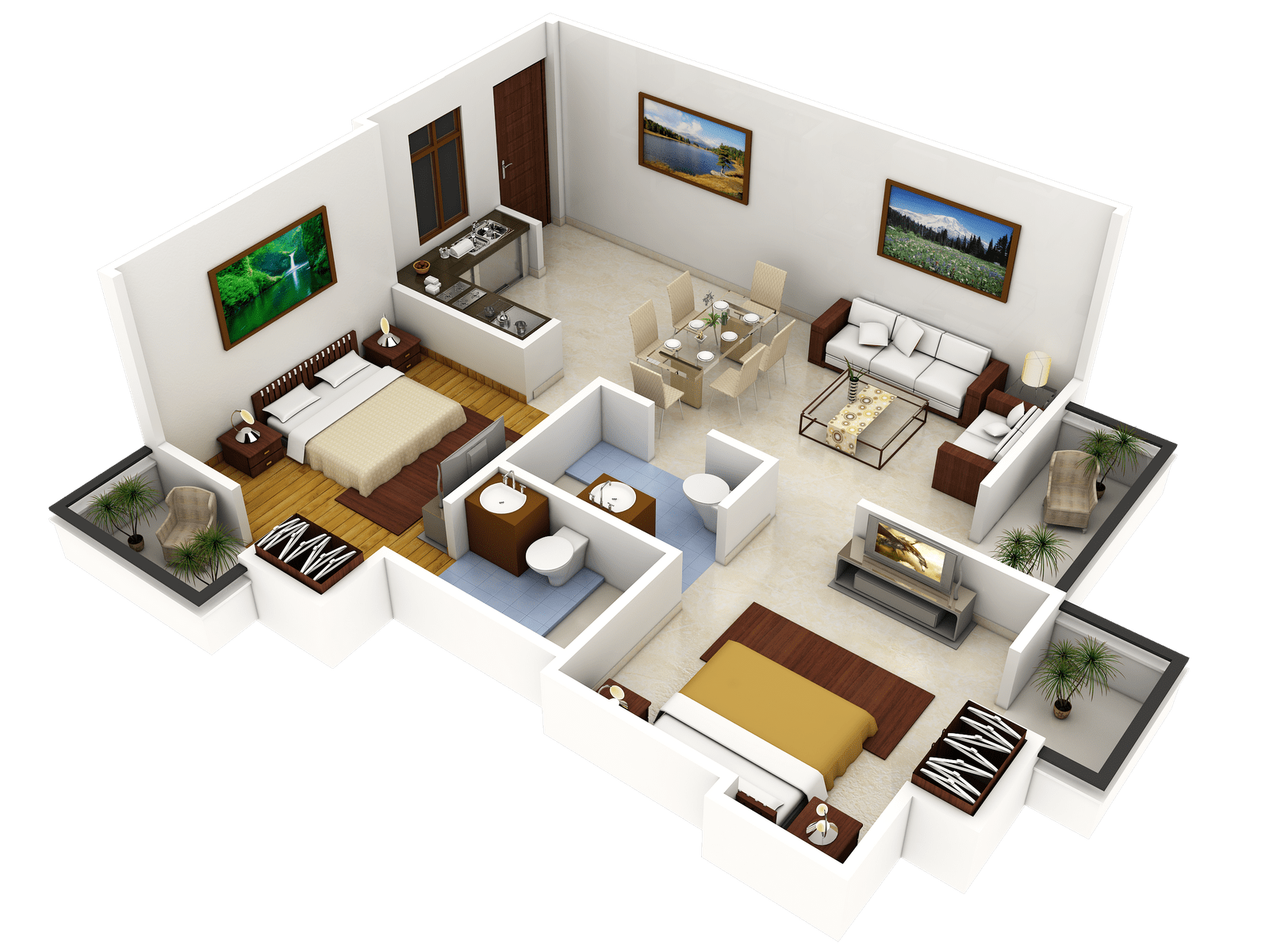 240 Best Images About Apartmen Floor Plans On Pinterest House