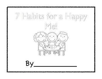 7 Habits for Happy Kids Reflective Journal and Goal