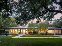 Contemporary Home, 6722 Norway Road, Dallas, Texas ...