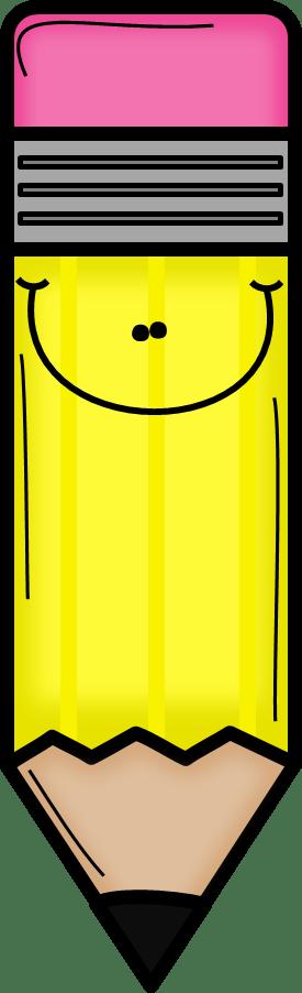 yellow pencil clip art school