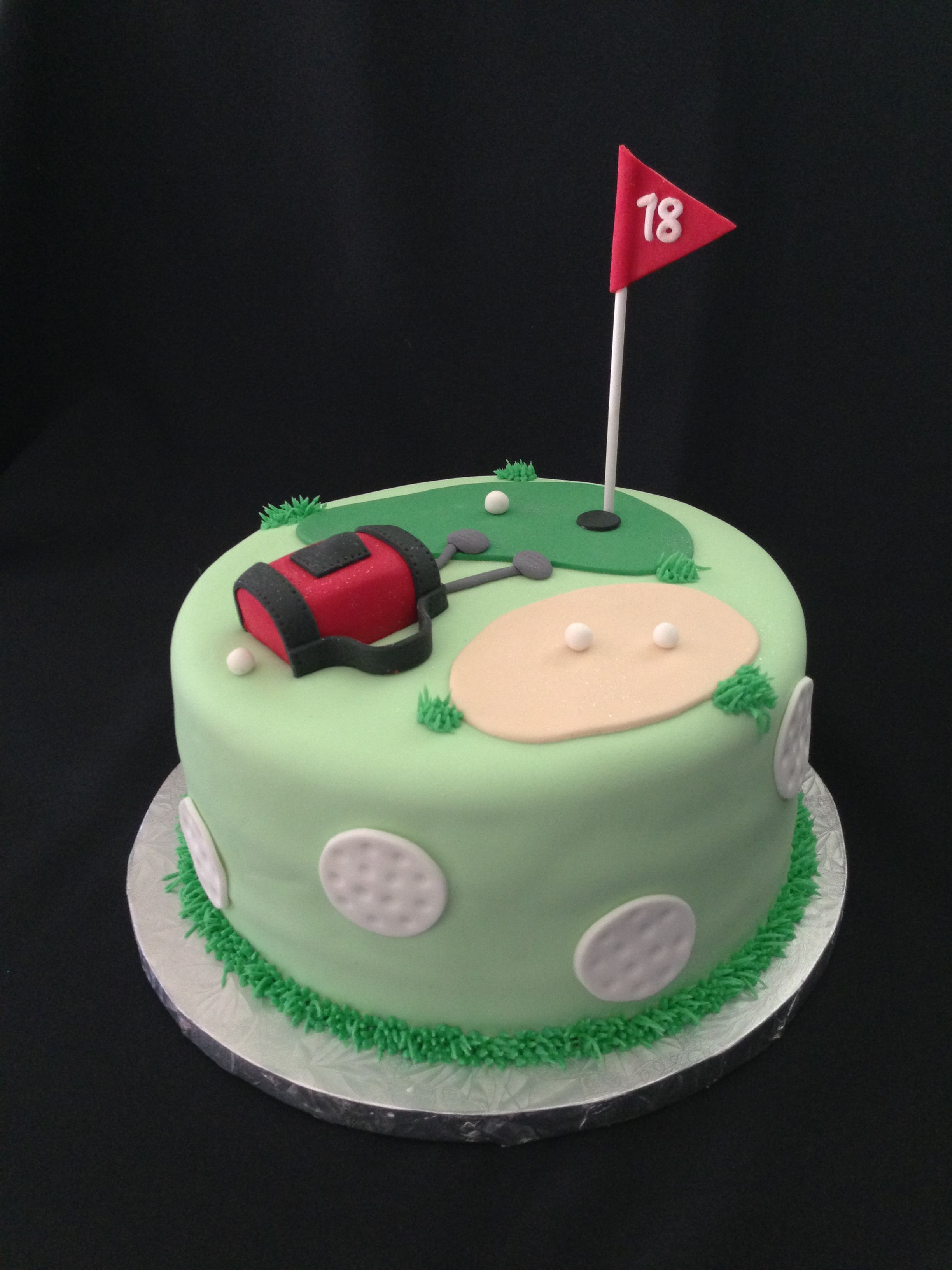 Golf Decorations For Birthday Cake For Women