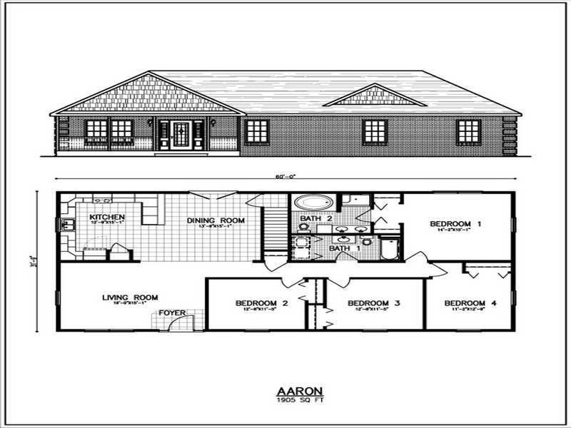 Metal Building Homes Floor Plans Split Level House Plans