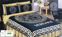 Versace Bedroom Bedding Set Queen Sheet Pillowcases Duvet