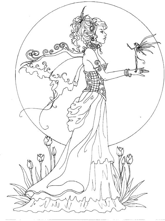 Amy Brown fairy coloring book Fairy Myth Mythical Mystical