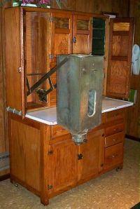 Hoosier Flour Bin Cabinet  Cabinets Matttroy