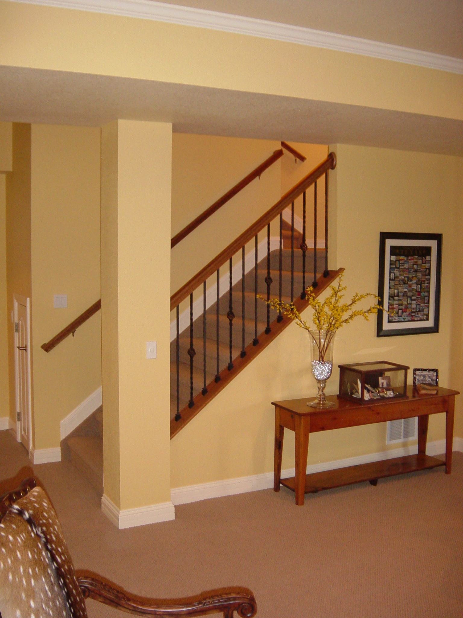 When homes are constructed with unfinished basements, the