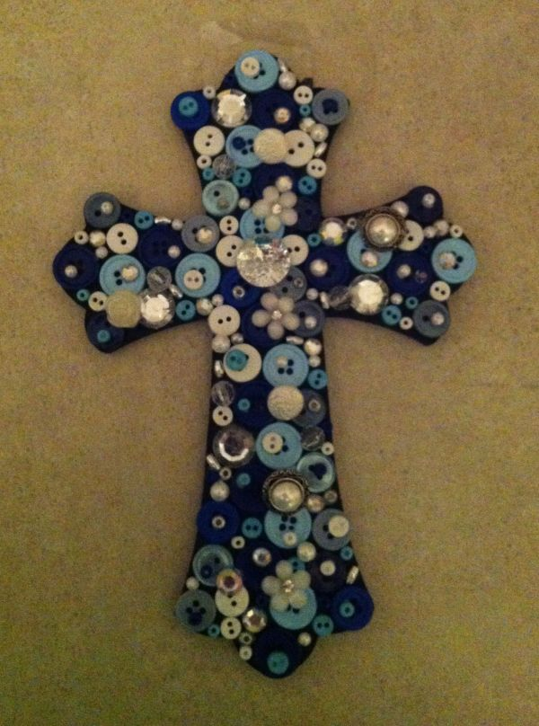 20 Painted Wooden Crosses Craft Ideas Pictures And Ideas On Stem