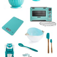 Teal Kitchen Appliances Wall Table For My Favorite Resources Kitchens