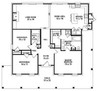 #654151 - One story 3 bedroom, 2 bath Southern Country ...