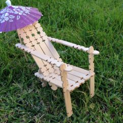 How To Make Beach Chairs Haworth Office Chair This Cute Is Made With Popsicle