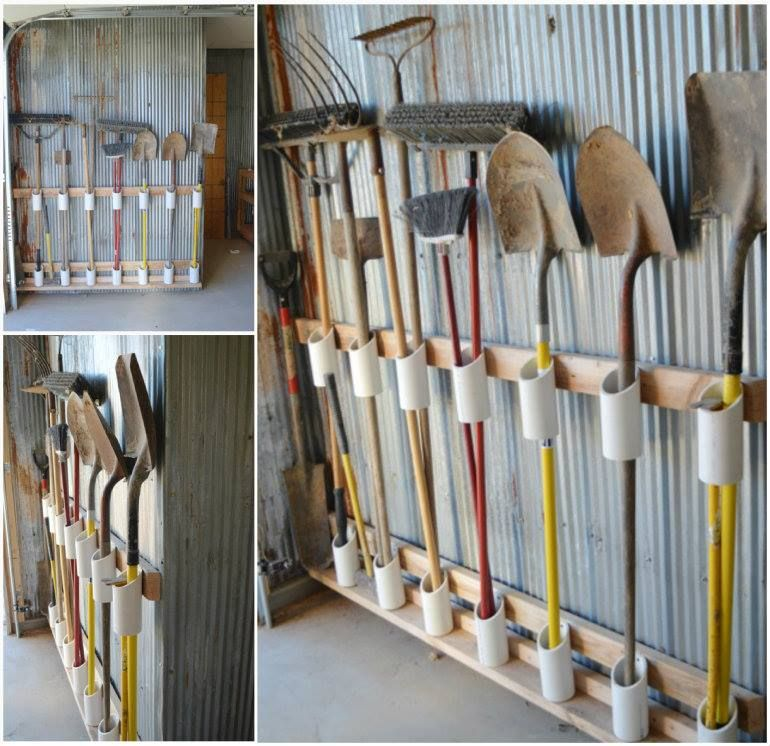Wonderful DIY Garage Tool Organizer Gardens Creative And Smalls
