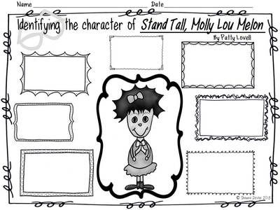 Stand Tall, Molly Lou Melon Character Analysis Freebie