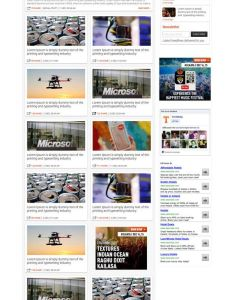 Technology blog website only usd home page and article also rh pinterest