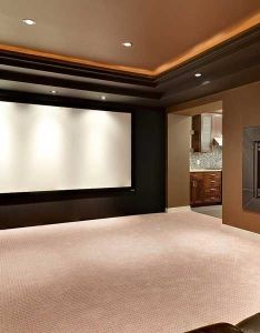 home theater system may be simple tv with speakers or as elaborate also rh pinterest