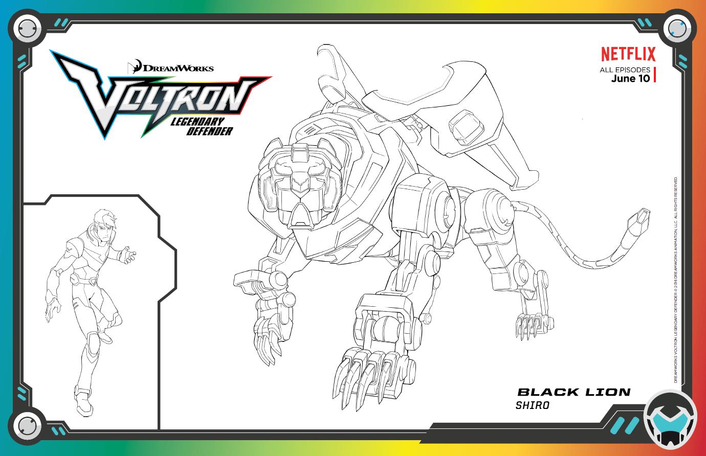 Skgaleana Dreamworks Voltron Legendary Defender