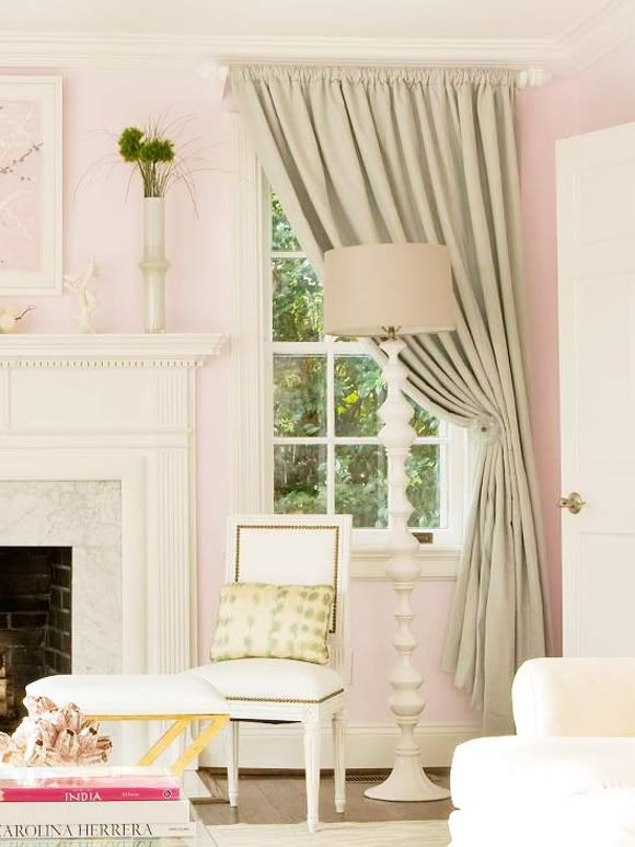 Perking Up A Room With Drop Cloth Curtains Drop Cloth Curtains