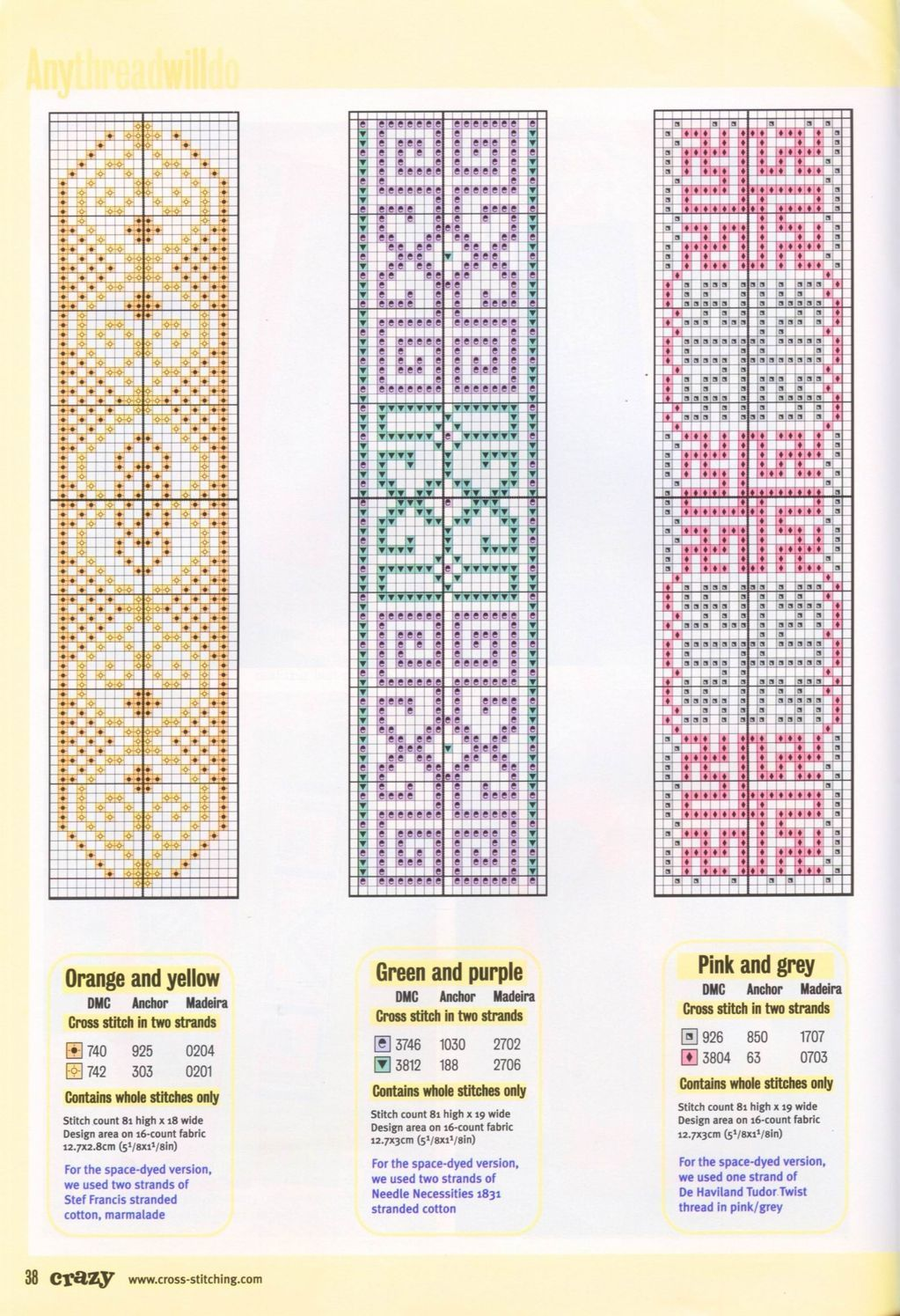 Small Sewing Projects Bookmarks